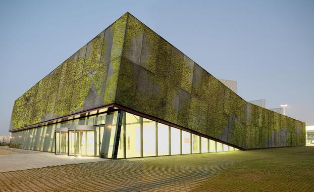 Un hormigón biológico para construir edificaciones 'vivas'